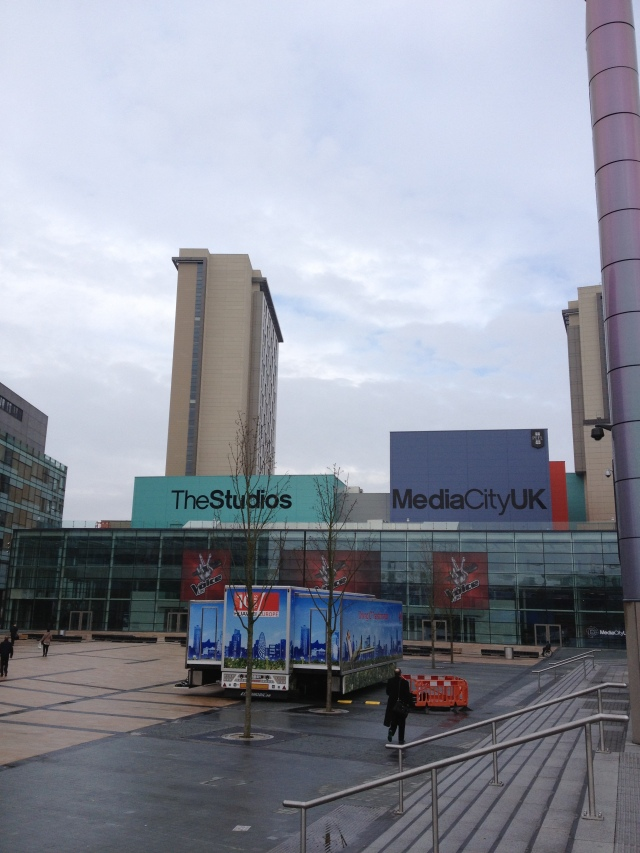 More of the Media City UK campus.
