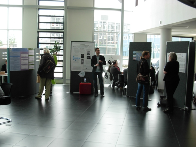 These are the research posters which were on display throughout the conference